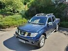 LARGER PHOTOS: COMMERICIAL NISSAN NAVARA D40 2.5L DCI DIESEL MIDNIGHT BLUE 2008 PICK UP TRUCK