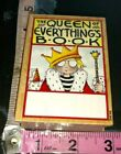 The Queens bookplates all night media Mary engelbreit402woodenrubberstamp