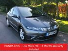 Honda Civic 18i VTEC SE Only Low 79k Miles NEW MOT