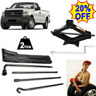 Lug Wrench Hook Extension Replace Kit +2T Scissor Jack For 2004 2014 Ford F 150