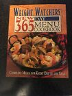 Weight Watchers New 365 Day Menu Cookbook by Inc Staff Weight Watchers