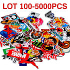 100 5000X Waterproof Skateboard Longboard Vintage Vinyl Sticker Laptop Decor WF