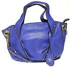 NWT Oryany Leather Lian Satchel Blue Color MSRP 35600
