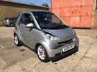 2008 Smart Fortwo Passion 71 Auto Spares Or Repairs Panroof Smart Car