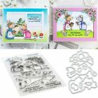 Mice Metal DIY Cutting Dies Stencils for Scrapbooking Paper Card Embossing Decor