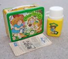 1983 CABBAGE PATCH KIDS LUNCHBOX NEAR MINT STORE STOCK CONDITION with THERMOS