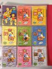 Inkworks SIMPSONS 10th ANNIVERSARY Complete 81 Card BASE SET + T1