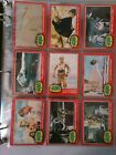 1977 Topps Star wars Series 2 66 card set(RED BORDER) + 11 stickers