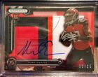 2014 Topps Strata Clear Cut Ruby Auto RPA Patch RC Mike Evans 03 25