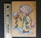 Stampendous 1998 UP010 Blessings From My House rubber stamp FREE SHIP