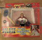 Starting LineUp Pro Action Hockey   Patrick Roy DELUXE Real Goal Blocking Action