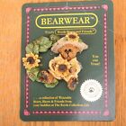 Boyds Bears Bearware Collection Pin Bloomin 1995