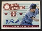 GEORGE BRETT - 2013 Hometown Heroes Face Of The Franchise Autograph SP