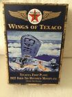 Wings of Texaco 1927 Ford Tri-Motored Monoplane Coin Bank ERTL Collectible NIB