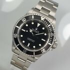 Rolex Submariner (No Date) 14060 Flat-Four A-Serie aus 1999