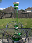 Glass Beaker Water Pipe 18 Tall XL 144mm Bowl Phoenix Royal Green