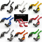 CNC 3D Short Camber Brake Clutch Levers For Honda CBR 600 F2,F3,F4,F4i 1991-2007