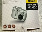 NIKON | COOLPIX 3100 DIGITAL CAMERA 3X Nikkor lens. Charger included. BOXED