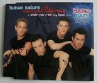 Human Nature Autographed CD Andrew Tierney Eternal Flame Harmony Pop Video rare