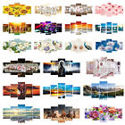 5pcs 5D DIY Full Drill Diamond Painting Lotus Embroidery Mosaic Kits Decor US