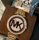 Michael Kors Women's Rose-Gold Stainless-Steel Watch Excellent Condition!
