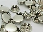 Walk In Coolerfreezer Cam Snap-in Hole Plugs. Nickel Plated. Various Pack Sizes