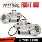 2x Front Wheel Hub  Bearing Replacement Assembly For 94 02 SATURN SL SEDAN Pair