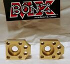 KAWASAKI KX65 2001-2020 KX 65 REAR WHEEL AXLE BLOCKS KX65 CHAIN ADJUSTER BLOCKS