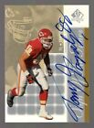 2000 SP Authentic Tony Gonzalez #60 Autograph Sign of the Times KC Chiefs Auto