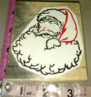 Large paper top Santa Claus unknown makerbxon3rubber stamp wood