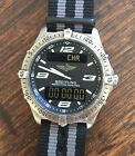 Breitling Repetition Minutes Mens Watch E65062 Just Serviced By Breitling