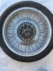 1983 Suzuki GR650 Tempter front wheel rim hub and rotor 19in ALUMINUM