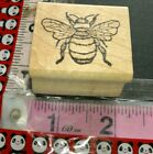Large bumble bee tickled ink vintage 52 woodenrubberstamp