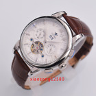 Ossna 45mm Stainless Steel white dial men watch sliver marks Automatic Luxury 01