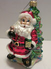 FIGURAL GLASS CHRISTMAS ORNAMENTS -CHRISTOPHER RADKO