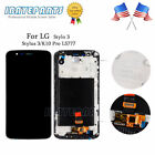 For LG Stylo 3 LS777 LCD Touch Screen Digitizer Assembly with Frame