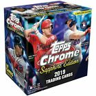 2019 TOPPS CHROME SAPPHIRE EDITION BASEBALL FACTORY SEALED BOX! W 1 AUTO! QTY!