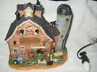 Halloween Village LEMAX Spooky Town; lighted