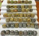 53PCS 1966 Packers To 2018 Patriots Championship Ring Set Fan Gift 2019