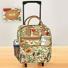 Rolling Tote Bag Tapestry Rolling Travel Bag Telescoping two wheels with Handle