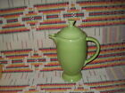 1950's CHARTREUSE FIESTA COFFEE SERVER & LID -FIESTAWARE  -             co19