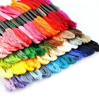 100 Skeins Colors Set Rainbow Embroidery Floss Cross Stitch Threads Crafts Floss