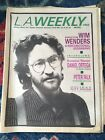 Nov 1984 LA Weekly Wim Wenders Cover Vintage Los Angeles Punk New Wave