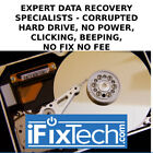 Data Recovery Service Hard Disk Drive Corrupted Not accessible not powering on