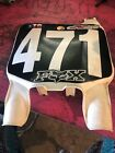 99 Kawasaki Kx125 Kx250 Kx500  Front Plate Number Cover Fairing Cowl 58029-1078