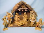 Fontanini Nativity Manger Scene Creche 7 Pcs Plus Stable 1983 5