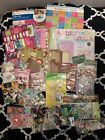 HUGE LOT SCRAPBOOKING Stickers paper kits Holidays and Lots More Mostly New