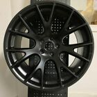 20 HELLCAT SRT STYLE SATIN BLACK WHEELS RIMS FITS DODGE CHARGER MAGNUM RWD ONLY