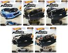 2019 Hot Wheels Fast  Furious Premium Furious Off Road Set of 5 1 64 Diecast