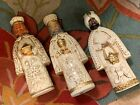 HF CO ARTISTICALLY CANDLE HOLDERS MID CENTURY LOT 3 NATIVITY WISE MEN KING MAGI